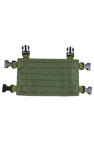 Wilde Custom Gear Modular MOLLE Placard Chest Rig Conversion Kit Split Bar Buckle