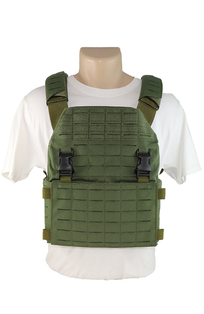 Wilde Custom Gear Laser Cut Modular Plate Carrier Front