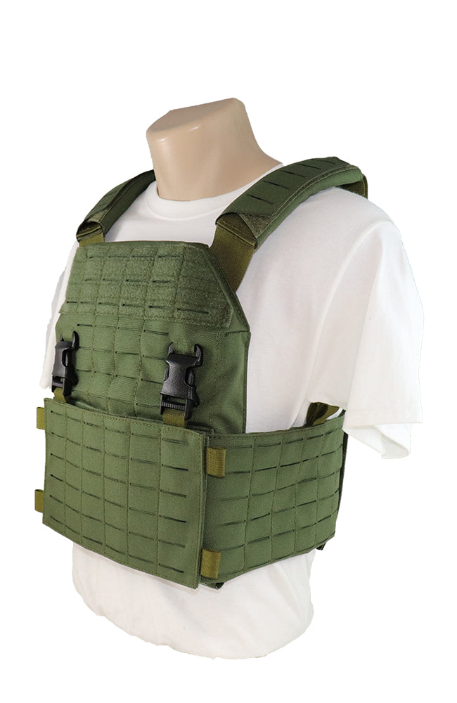 Wilde Custom Gear Laser Cut Modular Plate Carrier Side