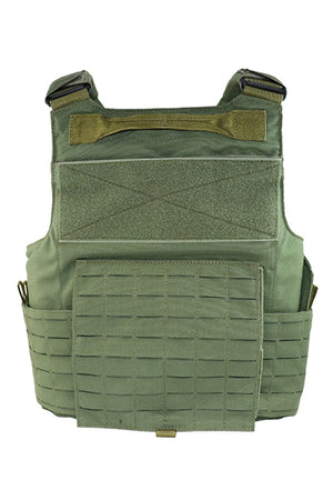 Wilde Custom Gear Modular External Load Bearing Laser Cut MOLLE Vest Carrier Police Law Enforcement Back