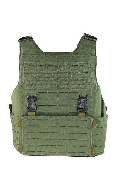 Wilde Custom Gear Modular External Load Bearing Laser Cut MOLLE Vest Carrier Police Law Enforcement Front