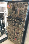 MOLLE Gun Safe Door Panel Organizer - Multicam - Wilde Custom Gear