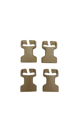 ITW Split Bar Buckles - Female - Set of Four