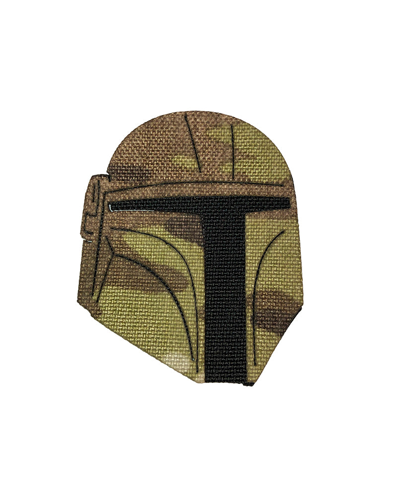 Warrior Helmet Patch