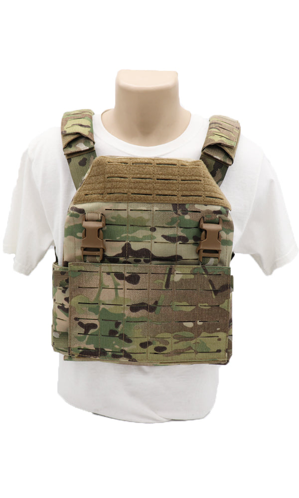 Wilde Custom Gear Modular Laser Cut Plate Carrier Multicam Front
