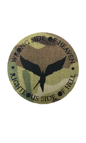 Wrong Side Of Heaven Laser Cut Patch