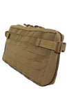 Goliath Large Admin Pouch Front Angle Coyote Brown.jpg