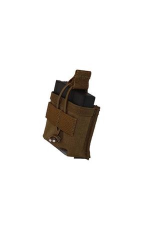 AR10 308 M1A Magazine Pouch Single Coyote Brown Side.jpg