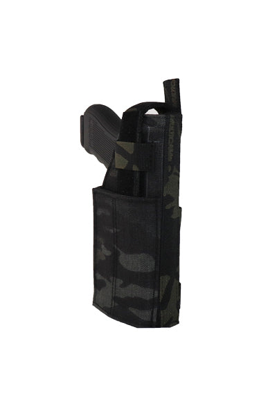 MOLLE Adjustable Pistol Holster Multicam Black Angle.jpg