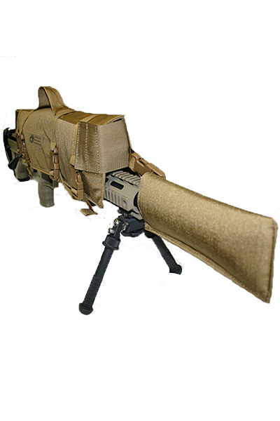 Padded Rifle Scope Cover Angle - Wilde Custom Gear