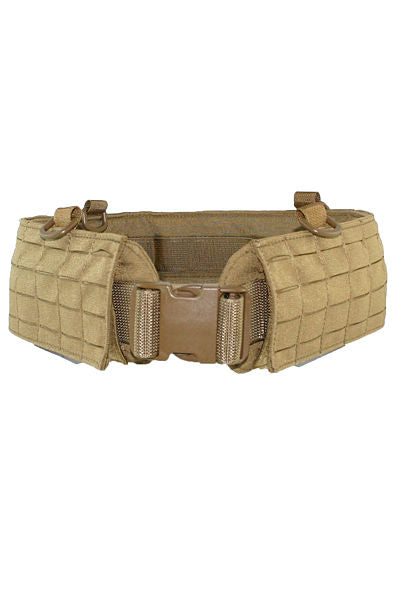 Laser Cut MOLLE Padded Battle Belt Front - Wilde Custom Gear