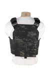 Laser Cut MOLLE Plate Carrier Cummberbund Multicam Black Back.jpg