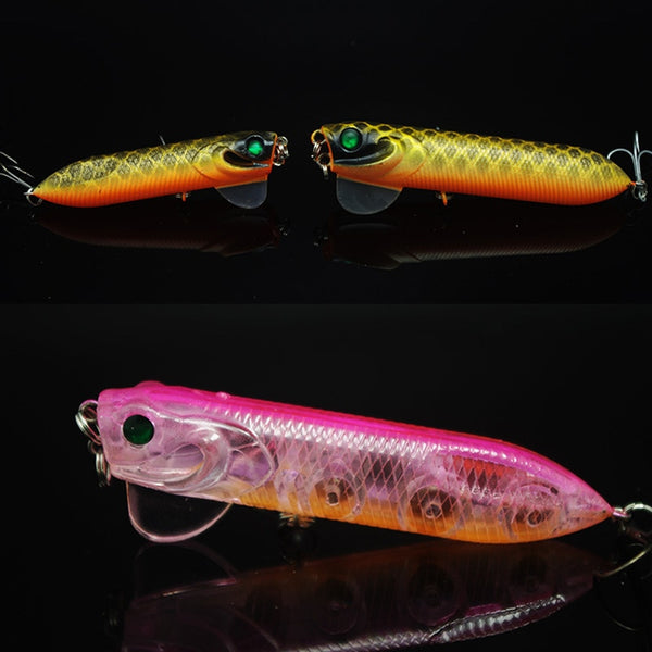 1 Piece Hot Sale Top Water Fishing Magic Lures Big Popper 14g Sinking 17g  Float Pencil Lure Hard Bait