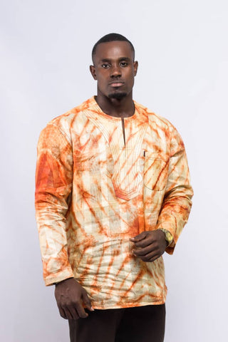 African Prints - Men's Tops