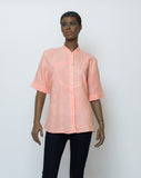 Ladies Linen Top (0.75 Sleeves)