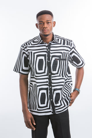 Square Zebra Shirt