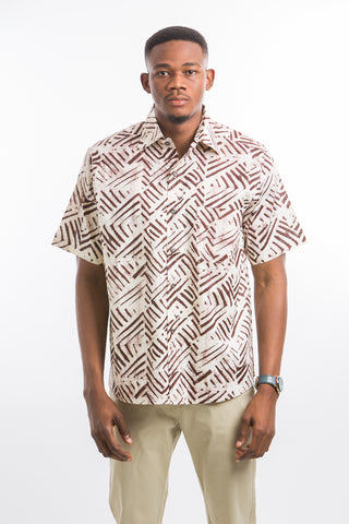 Railway pattern Shirt