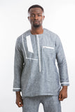 Grey reason Kaftan Shirt