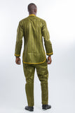 Master View Front Design Kaftan Green