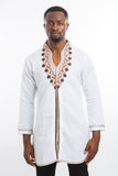 Rounded design Kaftan Shirt