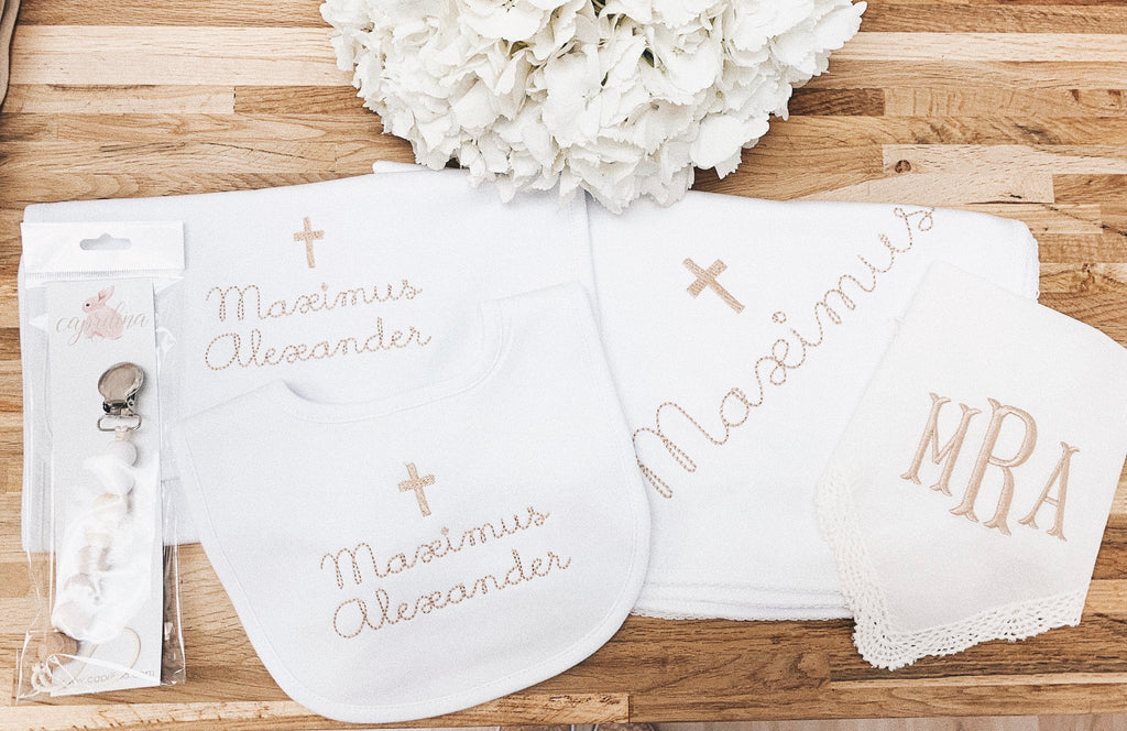 CAPRILINA BAPTISM ESSENTIALS SET
