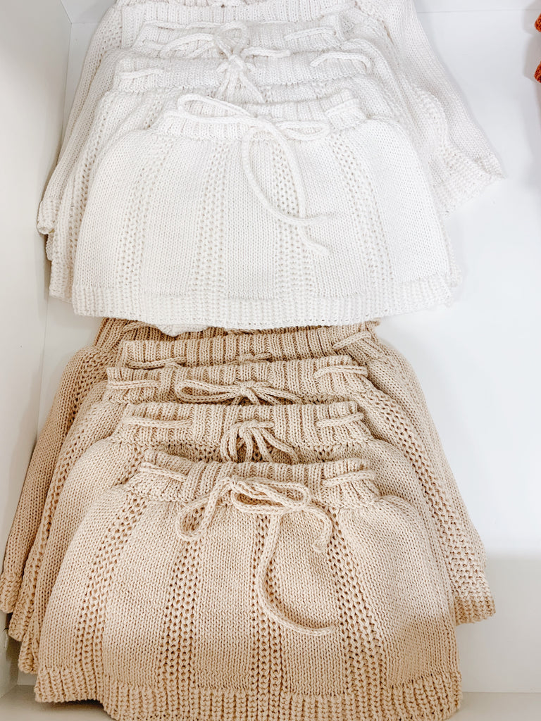 FALL KNITTED SKIRT