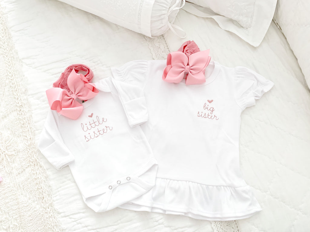 SIBLING ONESIE/T-SHIRT SET