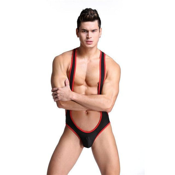Backless ringer body - Sportsgaywear