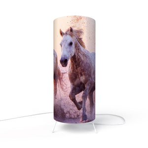 Modern Lamp designed by Fotbee with image of horses
