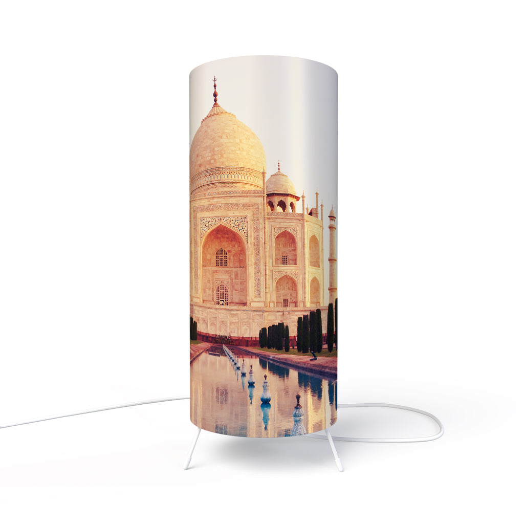 Modern Photo Lamp designed by Fotbee with image of Taj Mahal