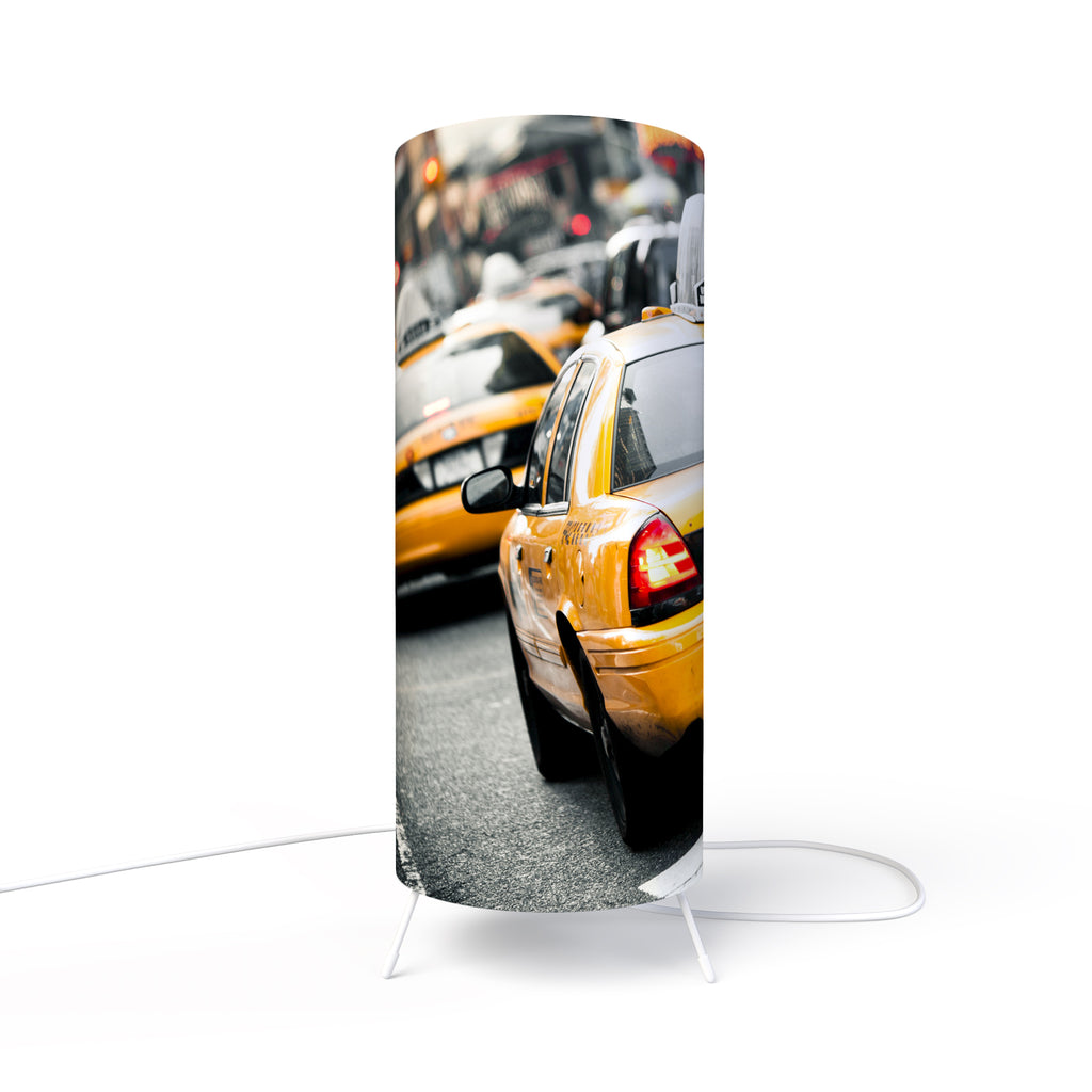 Modern Photo Lamp designed by Fotbee with image of New York City taxi
