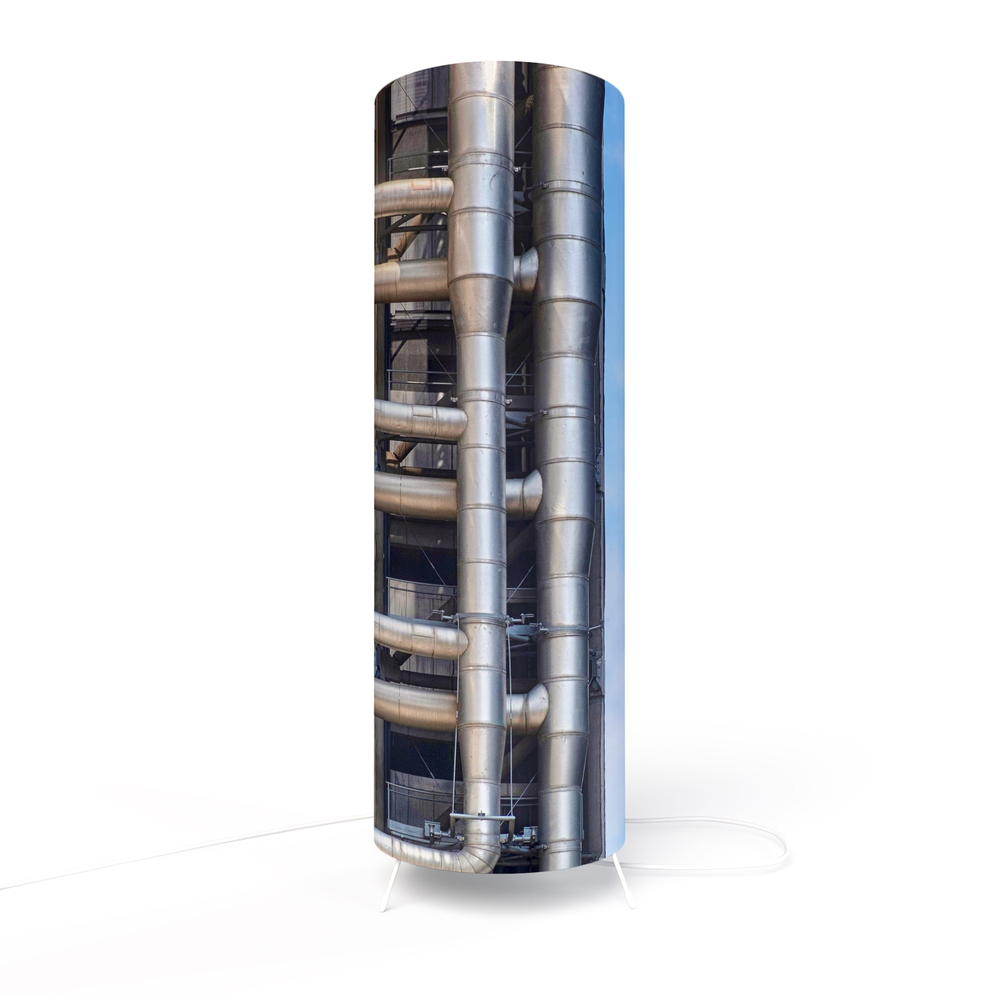 Modern Photo Lamp designed by Fotbee with image of Lloyd's Building