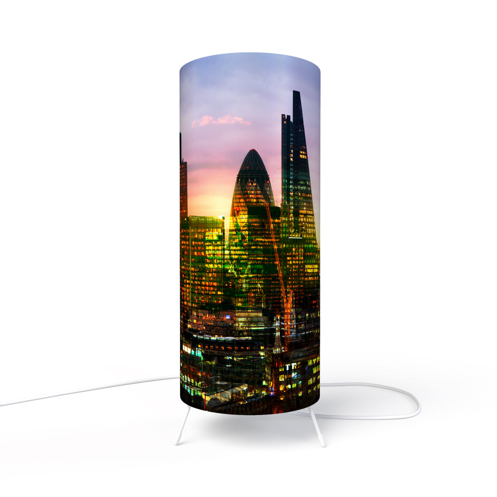 Modern Photo Lamp designed by Fotbee with image of  London City