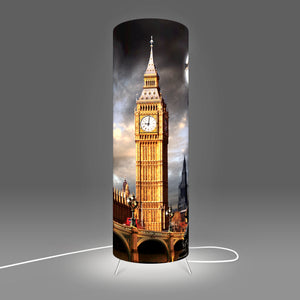 Modern Lamp designed by Fotbee with image of the Big Ben and Westminster in London