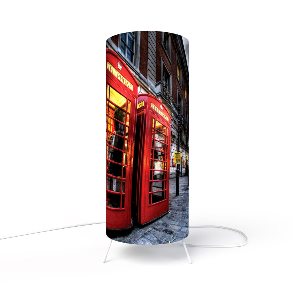 Modern Lamp designed by Fotbee with image of the Coven Garden in London