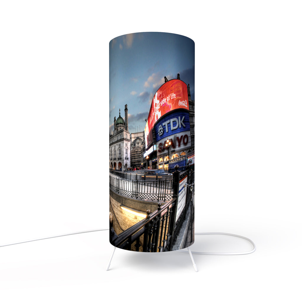 Modern Lamp designed by Fotbee with image of the Piccadilly Street in London