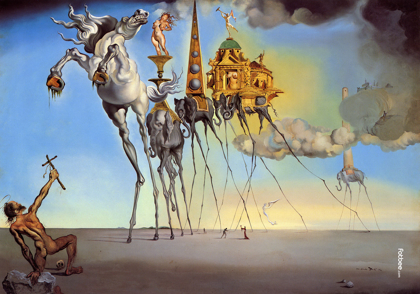 Salvador Dali - The Temptation of St. Anthony