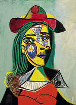 Pablo Picasso - Woman in Hat and Fur Collar