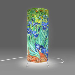 Fotbee table lamp with art by Vincent Van Gogh