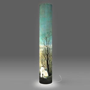 Fotbee table lamp with art by Henri Rousseau