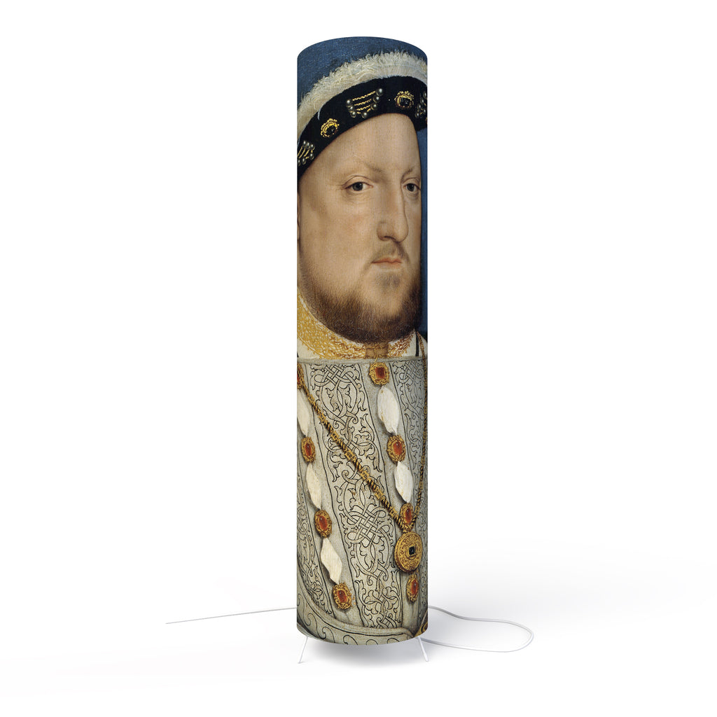 Fotbee table lamp with art by Hans Holbein