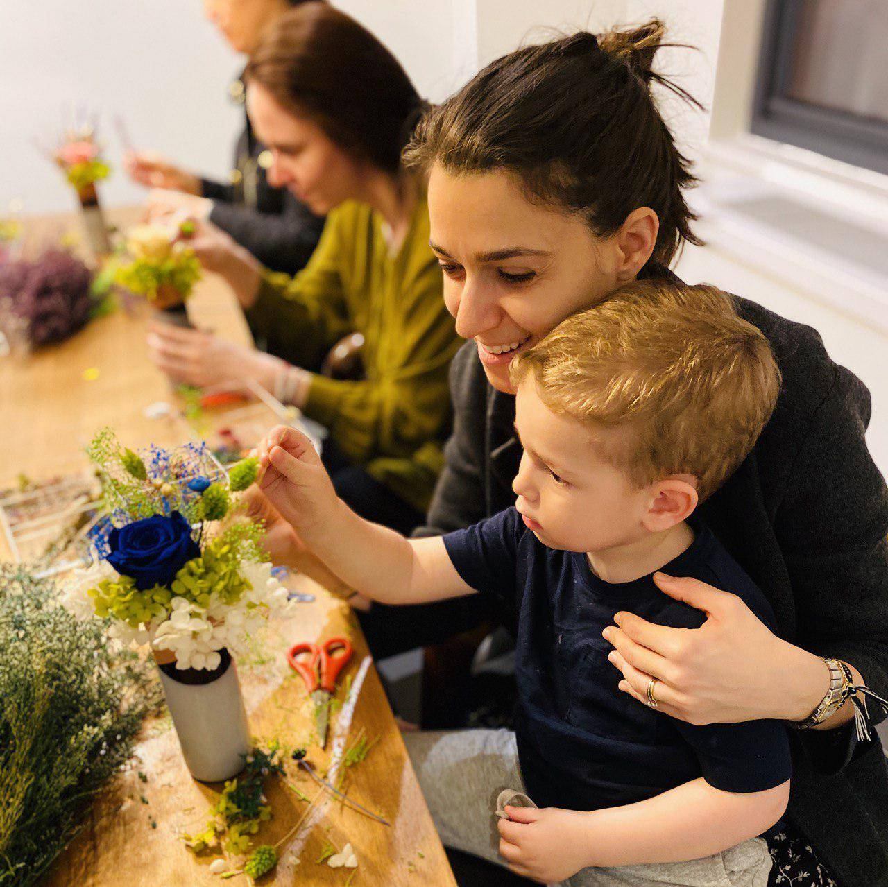 2021.3.25 Swing into Spring: Floral Arranging Workshop with NYU Bay Area