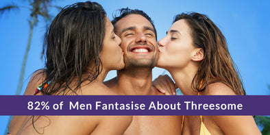 82% of men fantasise about threesome 2 girls 1 guy