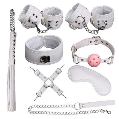 Classic Deluxe Domination Submissive Bondage Kit (8-piece) - Room Privée™