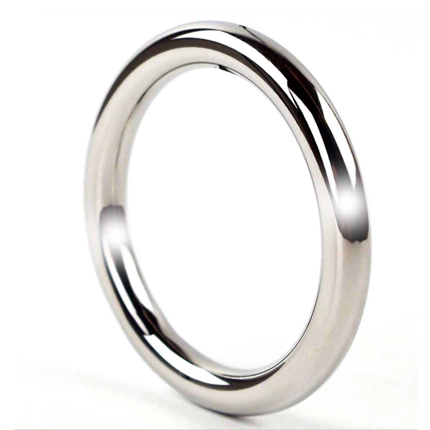 Cmd stainless steel cock rings