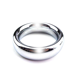 Deluxe Heavy Stainless Steel Doughnut Cock Ring Kit - Room Privée™