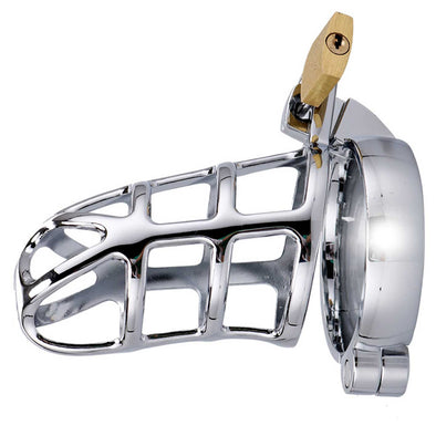 Deluxe Prisoner Metal Male Chastity Cage - ROOM PRIVÉE - Room Privée™