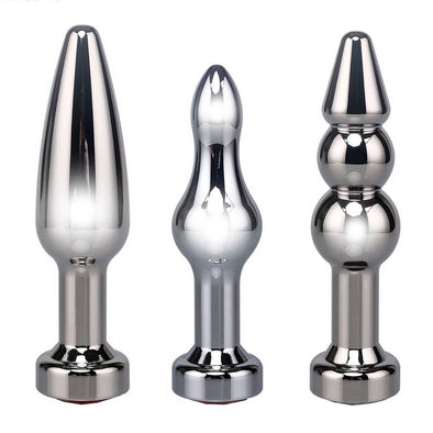 LUXURY TRIO Metal Butt Plug Set - ROOM PRIVÉE - Room Privée™