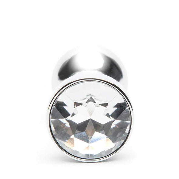 LUX Metal Jewelled Butt Plug 10.5 cm - ROOM PRIVÉE - Room Privée™