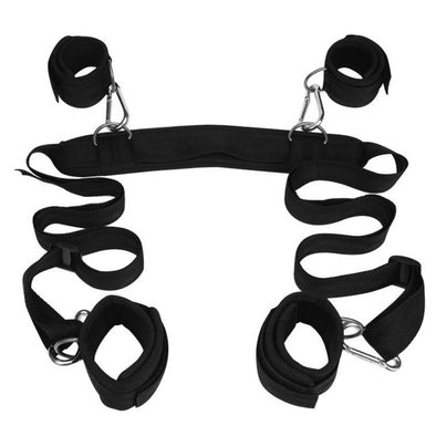 Sex Position Restraint with Soft Cuffs - Room Privée™